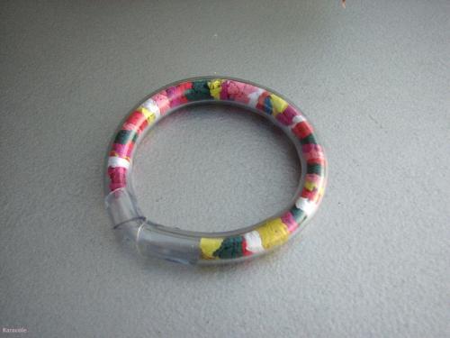 Bracelet arc en ciel bijou enfants d butant - Bracelet arc en ciel ...