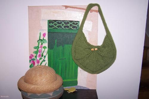 Petit sac en laine laine  Couture & Art du fil