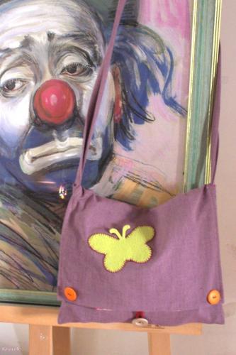 Autre sac besace couture, tissu  Couture & Art du fil
