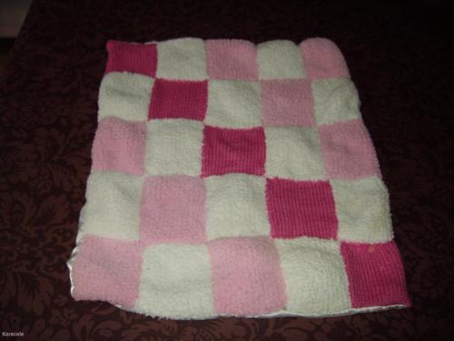 tricoter une couverture en laine. Black Bedroom Furniture Sets. Home Design Ideas