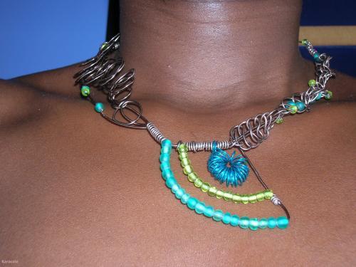 Bijoux perle, fil-aluminium  Jewelry, Fashion, Customisation