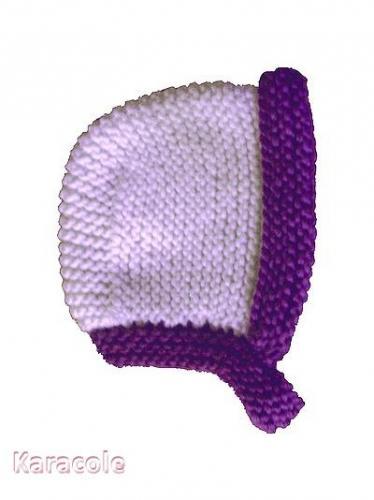 Bonnet Béguin tricot bébé, patron, gratuit Embroidery, Quilting, Needlework