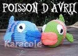 Poisson d'avril tricot jouets, 1er-avril, tuto Couture & Art du fil