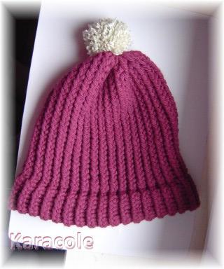 Bonnet et chauffe-cou tricotinés laine, tricotin bonnet, chauffe-cou Couture & Art du fil