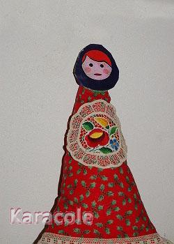 Matriochka-doudou mousse, tissu  Couture & Art du fil