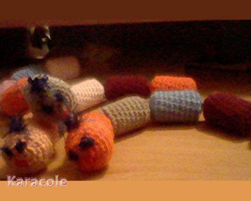Chenilles crochet, bouchon  Couture & Art du fil