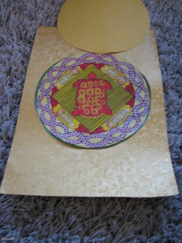 Mandala tortue pour Papa découpage, coloriage  Cartonnage, papeterie, scrapbooking