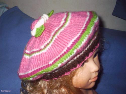 Bonnets bérets laine, tricot garde-robe, poupée, chapeau Couture & Art du fil