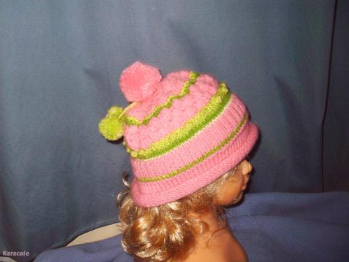 Bonnets laine, tricot garde-robe, poupée, chapeau Couture & Art du fil
