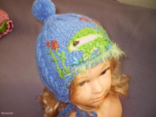 Bonnet tricot laine, tricot  Couture & Art du fil