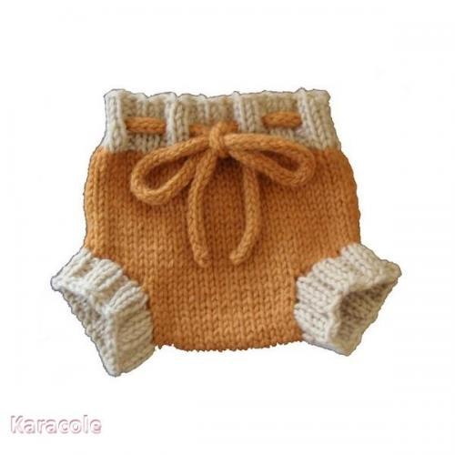 Patron tricot Culotte courte laine, tricot culotte, bébé, layette Couture & Art du fil
