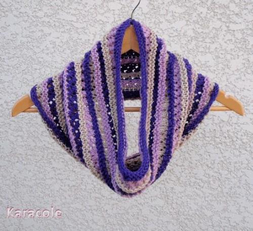 Patron Tricot  Snood Shamallow laine, tricot, mérinos col-cagoule, snood, enfants Couture & Art du fil