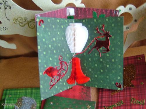 Cartes de Noël carterie  Cartonnage, papeterie, scrapbooking