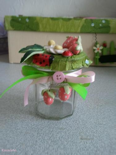 Petit pot de confiture   Home déco, modelage, bois, cadres, fleurs