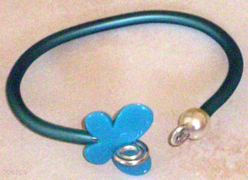 Bracelet Fil-alu, tube-silicone, perles Bracelet Mode, bijoux, accessoires