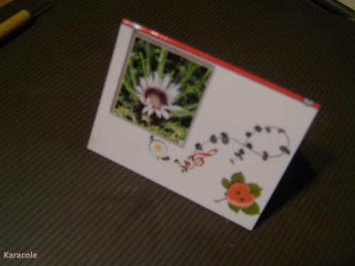 Calendrier de poche papier-photo, découpage  Cartonnage, papeterie, scrapbooking