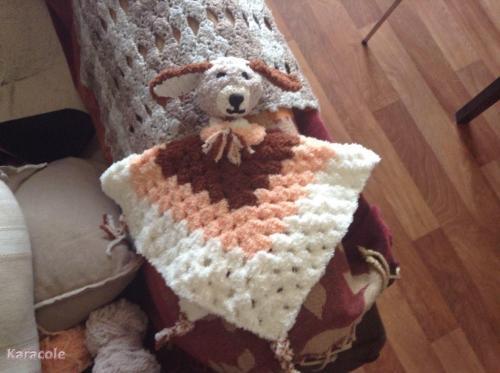 Doudou au crochet laine  Couture & Art du fil