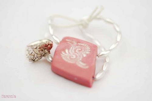 Bracelet enfant modelage Cernit pâte-polymère perles acrylique bracelet enfants bijou Mode, bijoux, accessoires