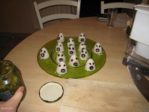 Onigiri d'Halloween riz  Récréation culinaire