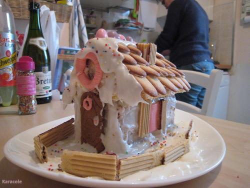 La maison de Hansel et Gretel pâtisserie  Récréation culinaire