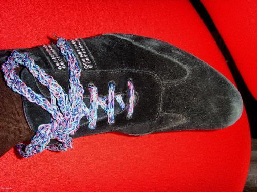Lacets en tricotin tricotin lacets chaussures Mode, bijoux, accessoires