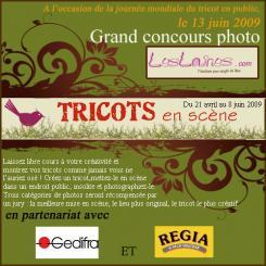 Concours photo TRICOTS EN SCÈNE
