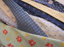 Cravates à réutiliser