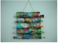 Recyclage de rouleaux de papier hygiénique